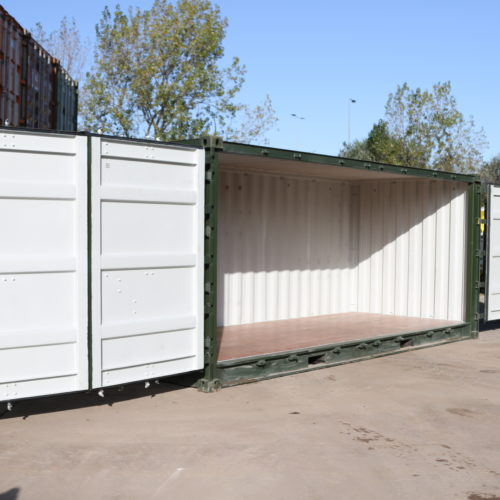 New 'One Trip' Full Side Access Shipping Container