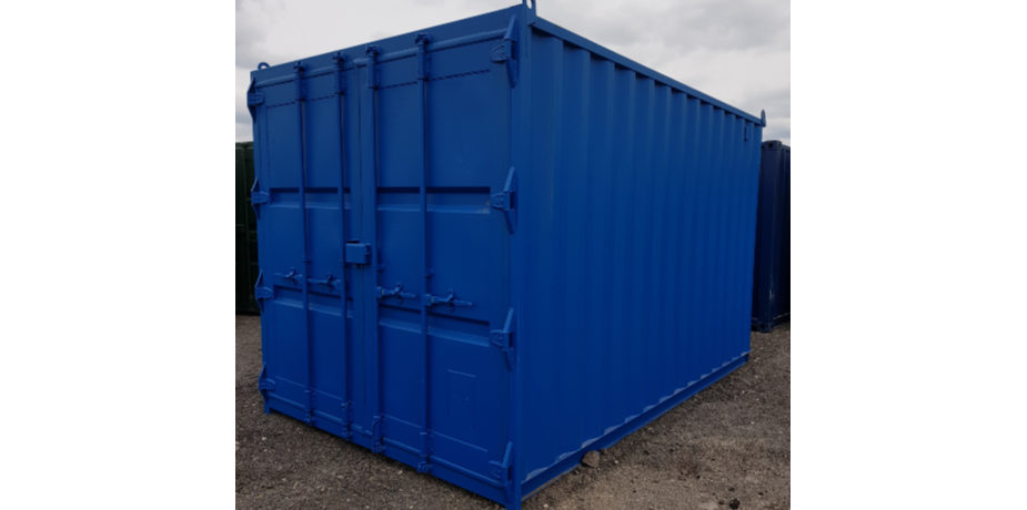 14ft new container - external view