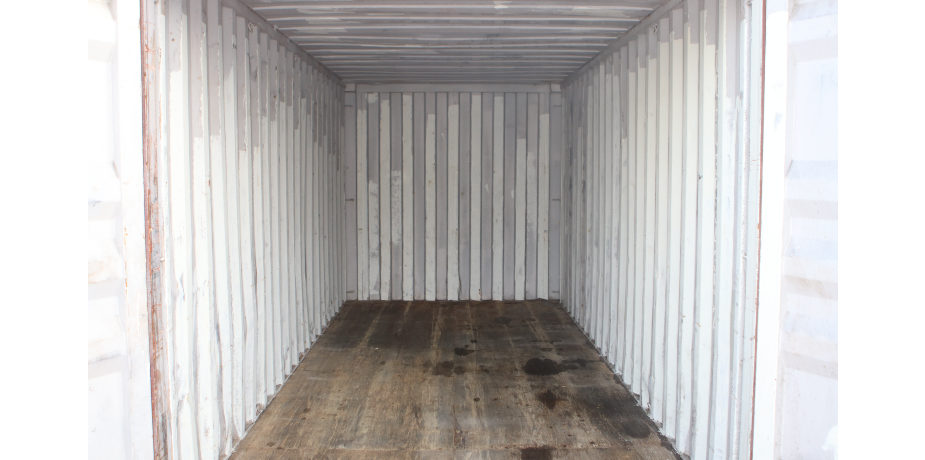 20ft Used Shipping Container - Internal view