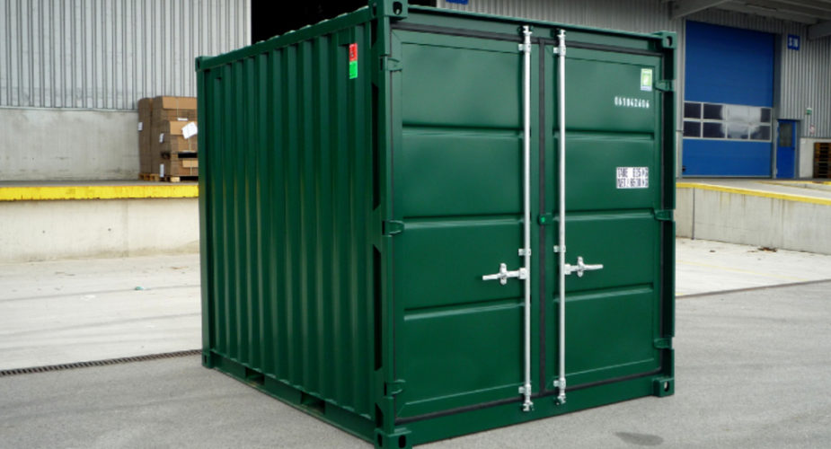 10ft New Build Container - External view
