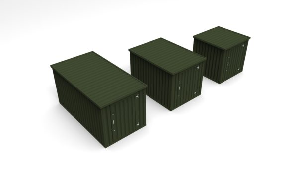 Flat Pack Storage Container