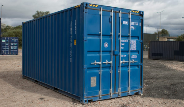 20ft New 'One Trip' High Cube Shipping Container