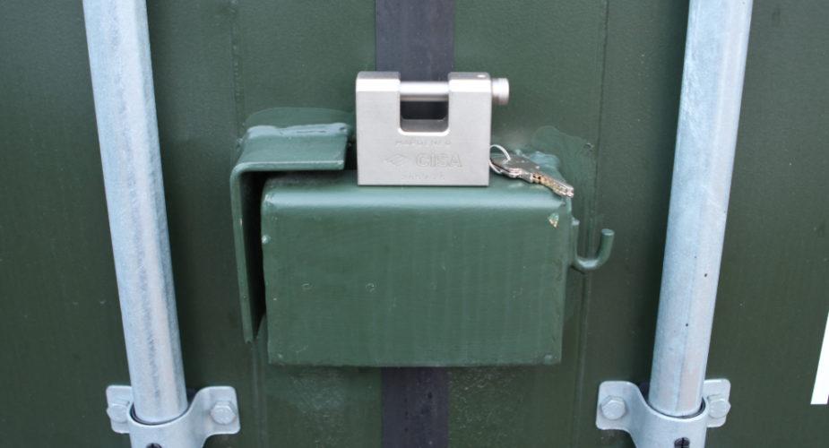 Lock box and CISA lock