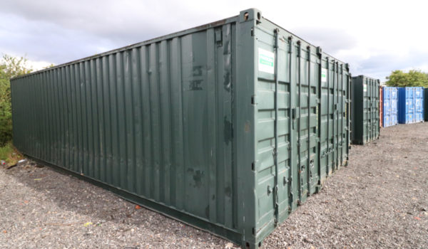 30ft Used Refurbished Storage Container