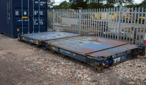 Flat Rack Shipping Container