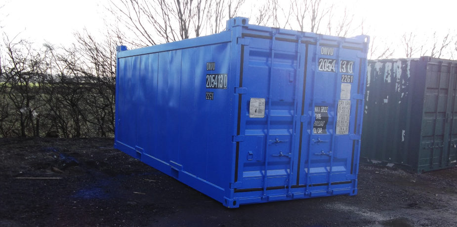 Off-shore DNV 2.7-1 shipping container - external view
