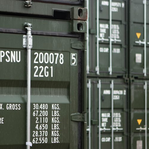 PSNU prefix have landed - The first containers have landed in the UK baring our new PSNU container prefix.