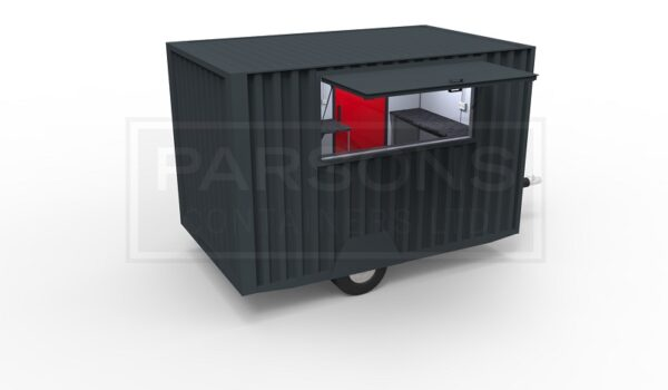 12ft Towable Catering Container