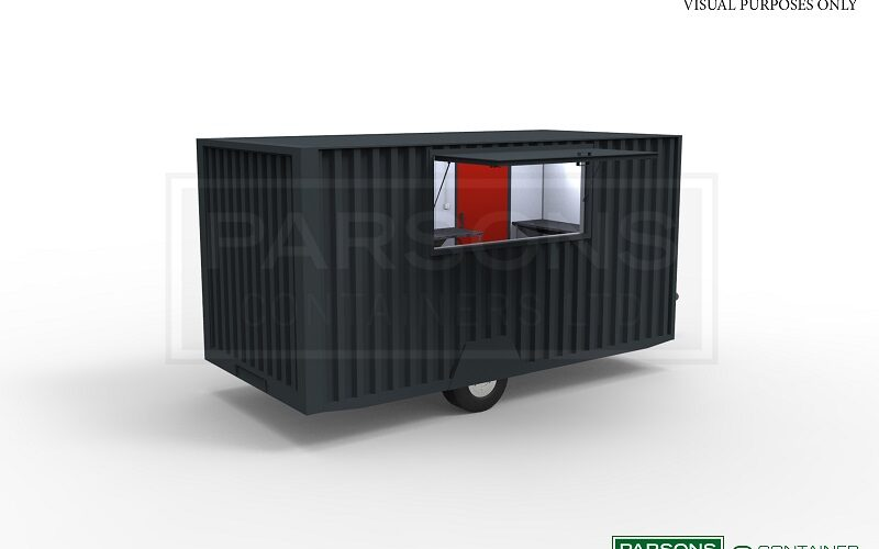 16ft Towable Catering Unit with service hatch